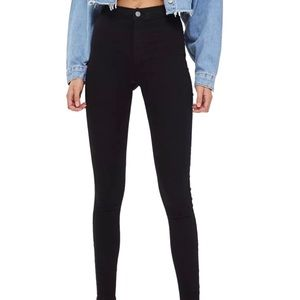 NEW Top Shop high waisted skinny jeans